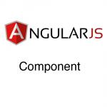 angularjs - component header