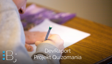 Dev Raport - Projekt Quizomania