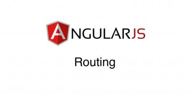 angularjs - routing