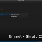Emmet – Skróty CSS