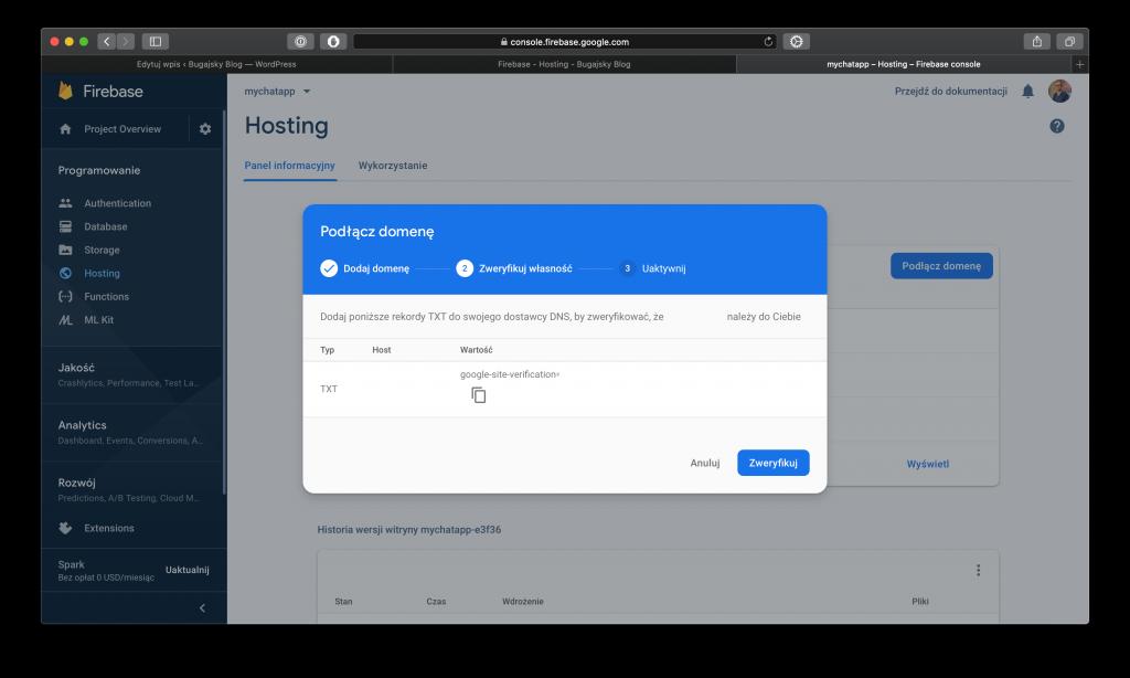 Firebase - Hosting - 2