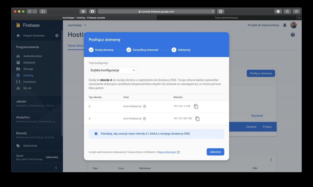Firebase - Hosting - 3