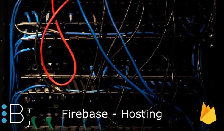 firebase - hosting
