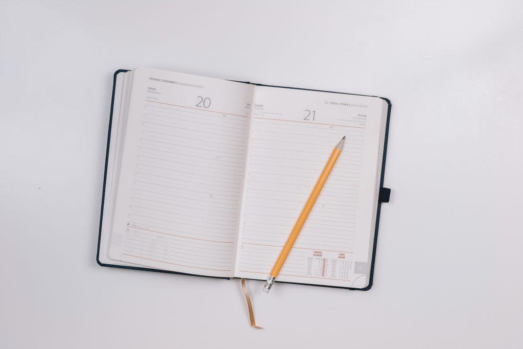 pncd - mój sposób planowania - kalendarz